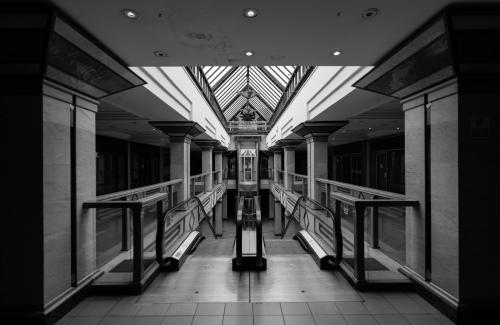 Empty Arcade - Wigan