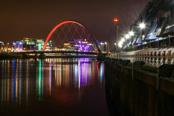 Squinty Bridge Glasgow