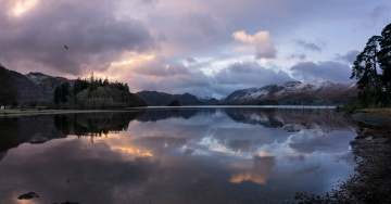 Panorama of Derwentwater from Friars Crag