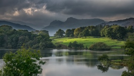Langdales over loughrigg