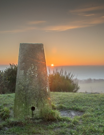 Billinge Hill Trig Point