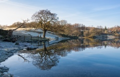 Frosty day at Loughrigg