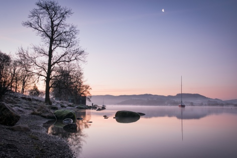Pre-sunrise serenity on Windermere