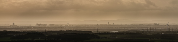 Liverpool skyline panorama