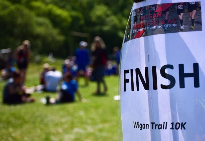 wigan trail finish